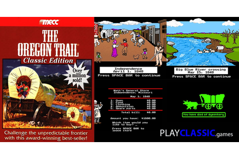 Oregon Trail game | Play online in a web browser, for free!