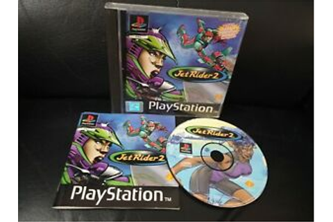Jet Rider 2, Sony Playstation 1 Game, Trusted Ebay Shop ...