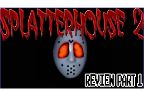 Splatterhouse 2 Game Review (Gen/Wii) - YouTube