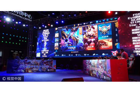 Tencent's mobile game King of Glory takes the crown ...