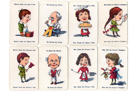 Happy Families - The World of Playing Cards