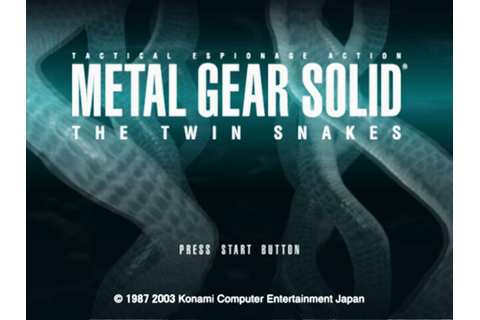 Metal Gear Solid The Twin Snakes Screenshots, Page 2, GameCube