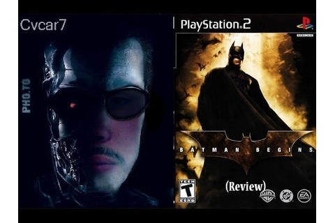 Batman Begins: Video Game PS2 (Review) - YouTube