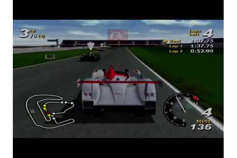 Total Immersion Racing - PS2 game review - YouTube