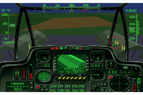 Indie Retro News: Gunship 2000 - A Helicopter simulation ...