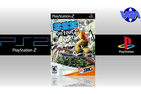 SSX on Tour Gameplay PS2 ( 2005 ) - YouTube