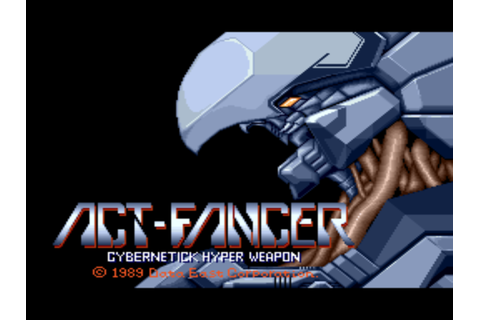 Act-Fancer Cybernetick Hyper Weapon (World revision 1) ROM