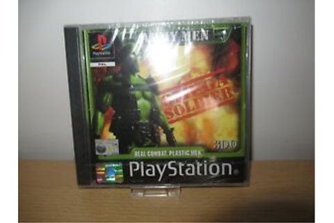 PS1 Game Army Men Omega Soldier new sealed pal version ...