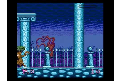 Pink Panther Goes to Hollywood Game Over Sega Genesis ...