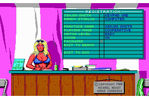Download Kings of the beach sports for DOS (1988 ...