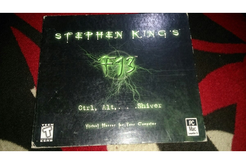 Stephen King F13 Virtual Horror Para Pc - $ 100.00 en ...