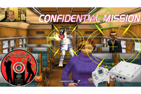 Confidential Mission | Sega Dreamcast Game SO FUN - YouTube
