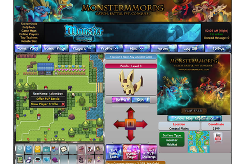 Reviews for Monster MMORPG Pokemon Style browser game
