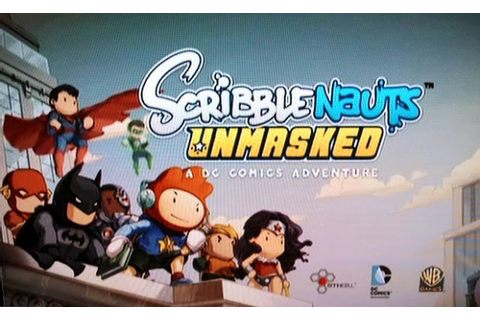 Scribblenauts Unmasked: A DC Comics Adventure-Mac Download ...