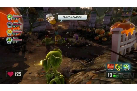 Plants vs. Zombies: Garden Warfare Gameplay - E3 2013 EA ...