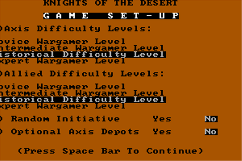 Download Knights of the Desert - My Abandonware