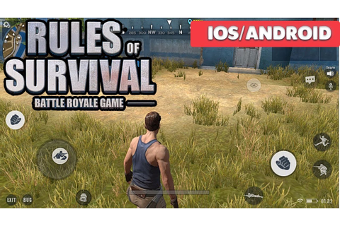 RULES OF SURVIVAL - iOS / ANDROID GAMEPLAY - YouTube