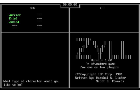 Zyll Download (1984 Adventure Game)