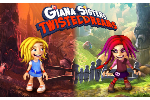Games for Gamers » Giana Sisters Twisted Dreams: Back for Good