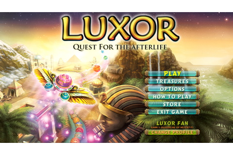 Download Luxor: Quest for the Afterlife Full PC Game