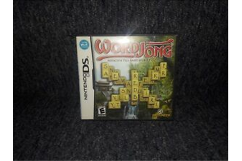 WordJong Nintendo DS game; pre-owned, complete | eBay