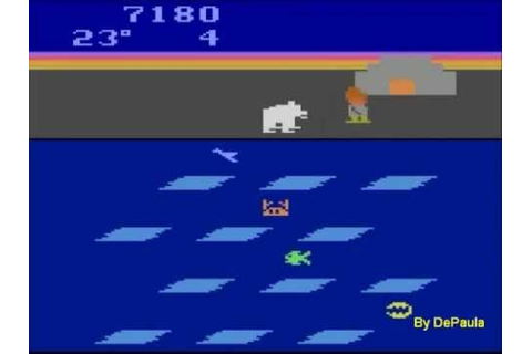 Frostbite (Atari 2600) Gameplay - YouTube