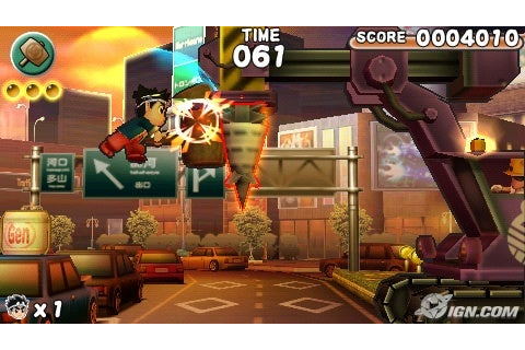 Sony PSP Tips & Tricks: Hammerin' Hero PSP Game Review