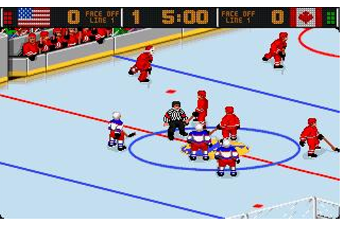 World Hockey '95 Download (1995 Sports Game)