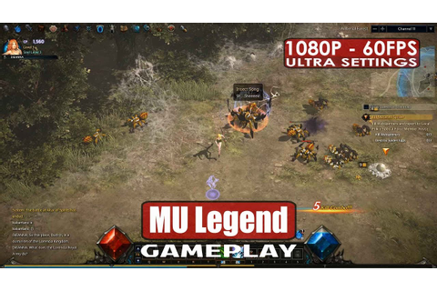 MU Legend gameplay PC HD [1080p/60fps] - Closed Beta - YouTube