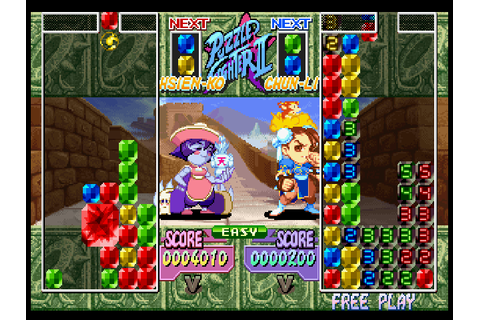 Super Puzzle Fighter II Turbo Screenshots for PlayStation ...