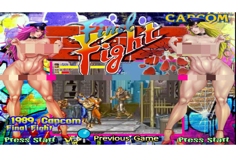 Hyperspin game theme Final Fight X (USA) - YouTube