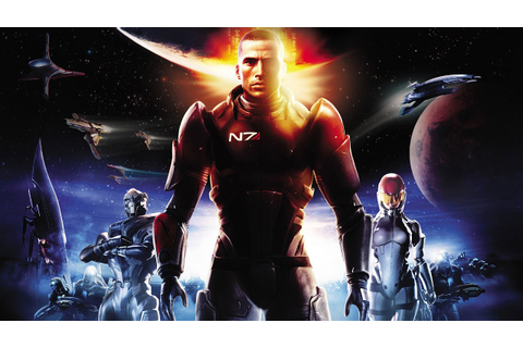 Mass Effect Game Movie (All Cutscenes) 1080p HD - YouTube