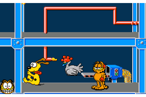 Garfield: Winter's Tail (1989) by Softek Amiga game
