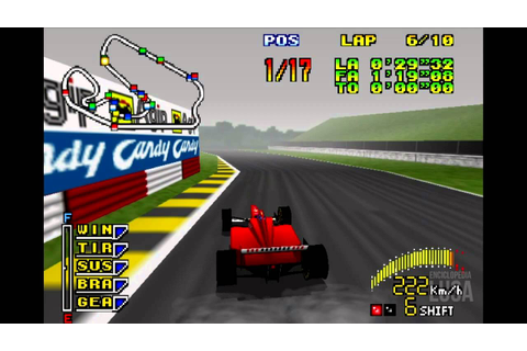 F1 Pole Position 64 - 1997 (Gameplay) - YouTube