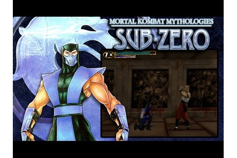 Mortal Kombat Mythologies: Sub Zero | The Movie | All ...