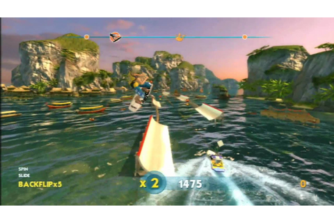Classic Game Room - WAKEBOARDING HD for PS3 review - YouTube
