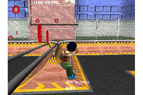 Razor Freestyle Scooter (2000) by Shaba Studios PS game