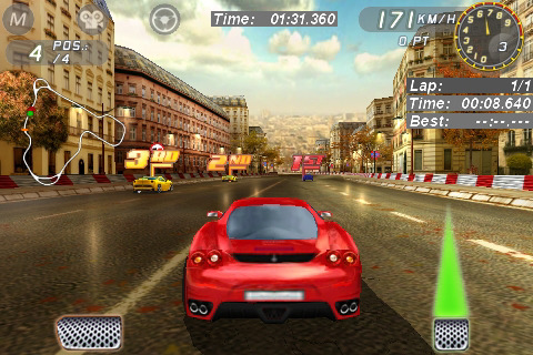iPhone gratis game: Ferrari GT Evolution Lite - iPhoned