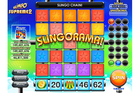 Slingo Supreme 2 Gameplay & full version free download