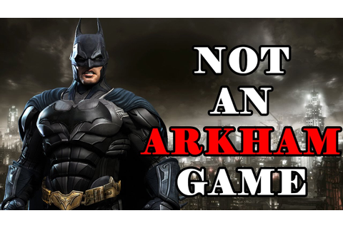 New Batman Game News and Leaks! NOT AN ARKHAM GAME! - YouTube