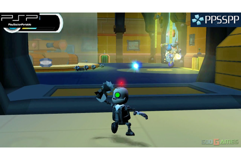 Secret Agent Clank - PSP Gameplay 1080p (PPSSPP) - YouTube
