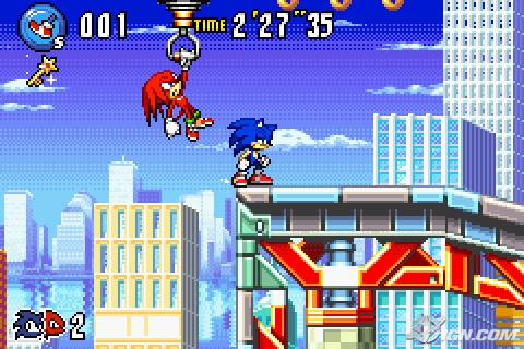 Image Gallery sonic advance 3