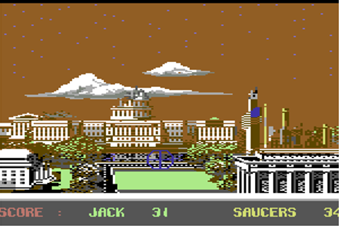 Download Saucer Attack! (Commodore 64) - My Abandonware