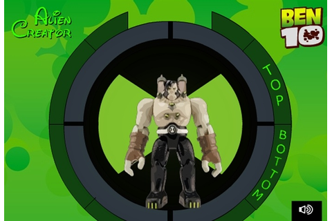 Ben 10 Alien Creator Game - Ben 10 games - Games Loon