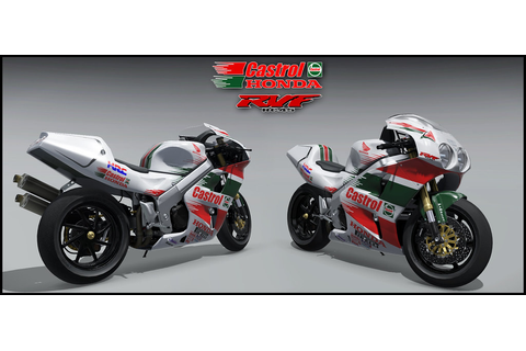 Skin Honda RC45 Castrol | RaceDepartment - Latest Formula ...