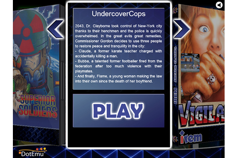 Super Adventures in Gaming: Undercover Cops (Arcade)
