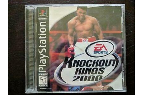 Knockout Kings 2000 Playstation 1 PS1 Game Used | eBay