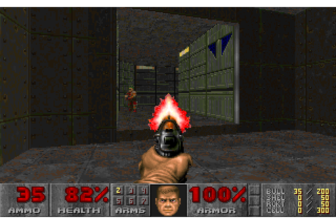 Final Doom (1996) by TeamTNT MS-DOS game