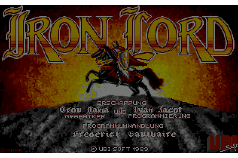 Iron Lord (1989) by Ubi Soft Amiga game
