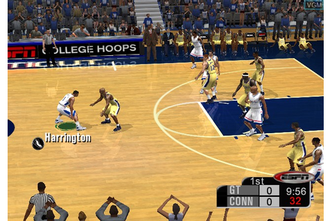 ESPN College Hoops 2K5 for Microsoft Xbox - The Video ...